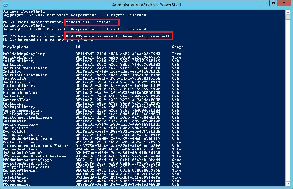 Microsoft powershell 3.0